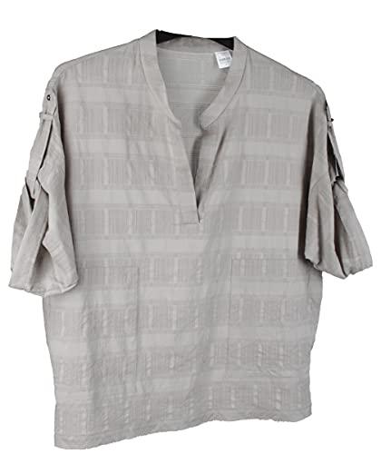 van Laack Biggi-KN Damen Bluse Shirt Gr. 34 Grau Neu