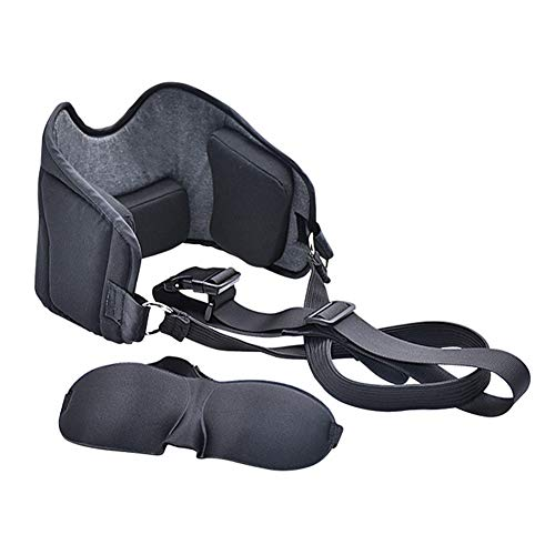 Lecheng Hammock for Neck, Portable Decompression Cervical Traction Device, Head Hammock for Neck Shoulder Pain Relief and Physical Ther