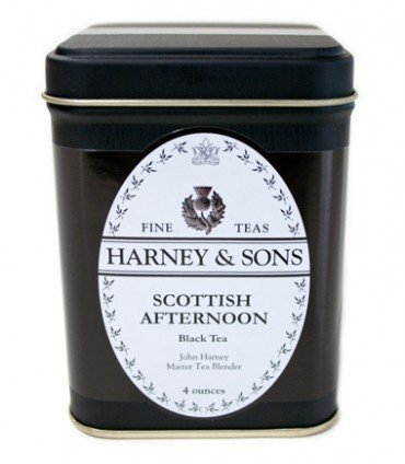 Harney & Sons Scottish Afternoon Black Tea (4 ounce tin)
