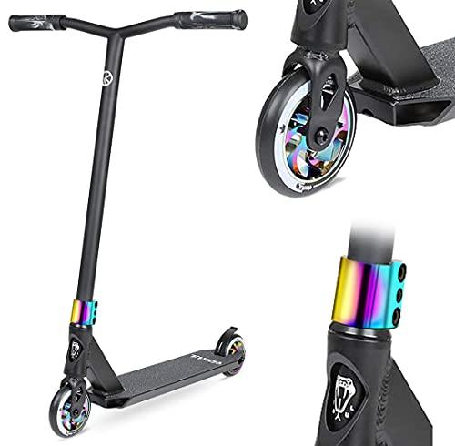VOKUL Pro Scooters - Stunt Scooter - Intermediate and Advanced Trick Scooters for Kids 8 Years and Up, Teens and Adults - Durable, Smooth, Freestyle K