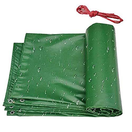 QIAOH Lonas Impermeables Exterior con Ojales 2×2m, Carport Ground Sheet Covers Reversible Weave Poly Tarpaulin para Leña Y Objetos De Jardín, Vehículos