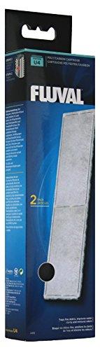 Fluval A492 Polyester- / Aktivkohlefiltereinsatz für Filter Fluval U4
