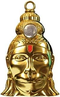 95masharda Hanuman Chalisa Yantra Locket with Gold Plated Chain