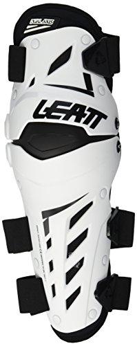 Leatt Dual Axis Knie/Schienbein Protektoren XXL Weiß/Schwarz