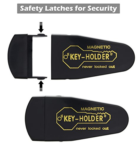 2 Large Ram-Pro Magnetic Hide-A-Key Holder for Over-Sized Keys - Extra-Strong Magnet Colorado