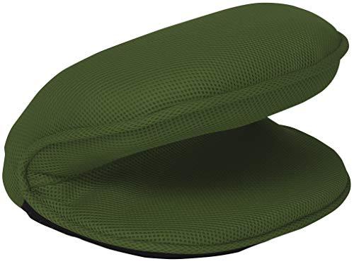 東急スポーツオアシス バウンドクッション バネアシスト 座って 筋トレ膝に優しい 高機能フィットネスクッション コンパクト 下半身 限定カラー(グリーン)
