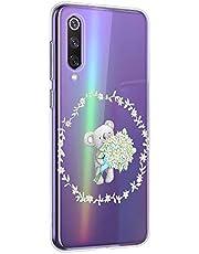 Oihxse Compatible con Realme X50 5G Funda Cristal Silicona TPU Suave Ultra-Delgado Protector Estuche Creativa Patrón Protector Anti-Choque Carcasa Cover(Pereza A4)