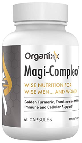 Organixx - Magi Complexx - Natural Anti-Inflammatory - 60 Capsules - 3 Powerful & Natural Inflammatory Support Agents, Soothe Aching Joints, Nourish Every Fiber of Your Body
