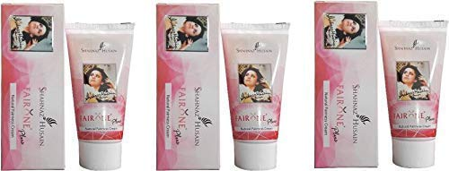 Shahnaz Husain Natural Fairness Cream 50gm (Pack of 3)