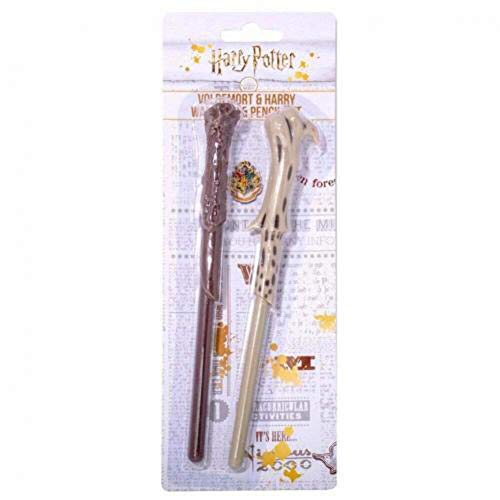 Blue Sky Studios Harry Potter Voldemort & Harry Wand Pen & Pencil Set