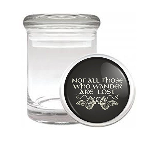 Not All Who Wander Are Lost Medical Odorless Glass Jar
