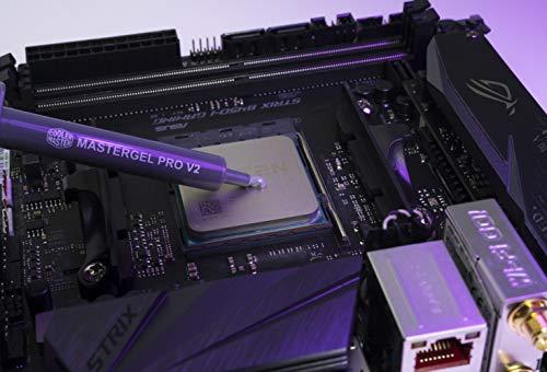Cooler Master MasterGel Pro V2 High Thermal Conductivity Compound für CPU-Kühler (9 W/mK) - Ultra-effiziente CPU/GPU Wärmeableitung ohne elektrische Leitfähigkeit, Applikator enthalten
