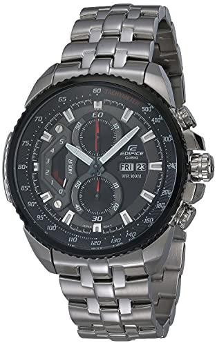 Casio Men's Edifice Alloy Quartz Stainless Steel Strap, Silver, 20 Casual Watch (Model: EF-558D-1AVDF)