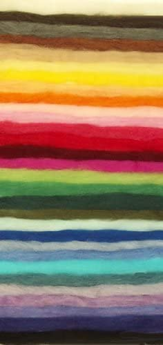 30 Color ecosoft Wool 10 OFFicial oz. High order roving-