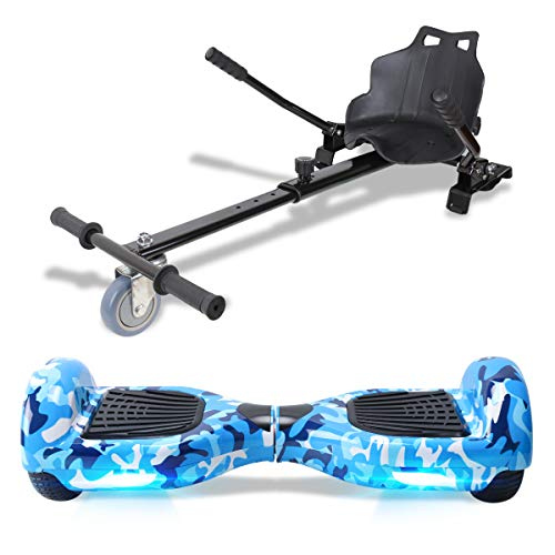 TOEU Hoverboard Scooter Elettrico Autobilanciato, con...