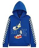 Sonic The Hedgehog Sudadera con capucha para niños, Puente de juegos para niños, Ropa para jugadores 4-14