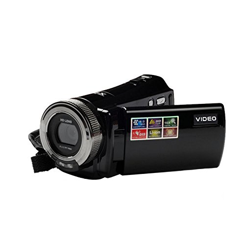 LWD Videocámara Digital Portátil HD Max. 16.0 Mega pixels 1280720P DV 2.7...