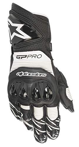 Guantes de Moto Alpinestars GP Pro R3 Gloves Black White, Negro/Blanco, L