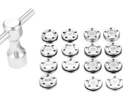 最新スコッティ キャメロン バター用ウェイト2個+Tレンチ セット 5g 10g 15g 20g 25g 30g 35g 40g スタジオセレクト カリフォルニア 現行モデル適合 (10)
