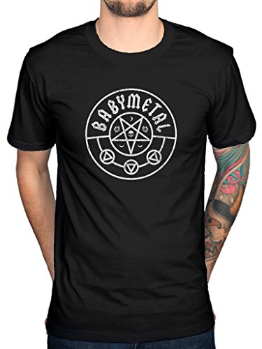 Official Babymetal Pentagram T-Shirt