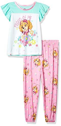 Nickelodeon Paw Patrol – Pijama de 2 Piezas para niña, Orgulloso en Rosa, 2 Años