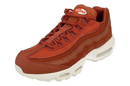 Nike Air Max 95 Premium SE Uomo Running Trainers 924478 Sneakers Scarpe (UK 7.5 US 8.5 EU 42, Dusty Peach White 200)