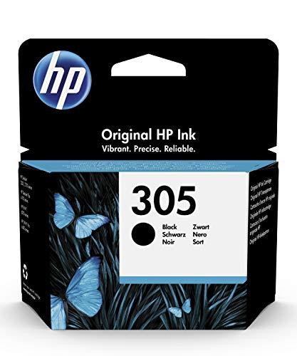 HP 305 Schwarz Original Druckerpatrone für HP DeskJet, HP DeskJet Plus, HP ENVY, HP ENVY Pro
