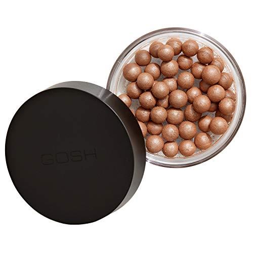 GOSH Precious Powder Pearls für einen sommerlichen Glow I parfümfreie Puder Make Up Perlen I super einfache Anwendung I langanhaltendes Makeup für Gesicht, Dekolletee und Körper