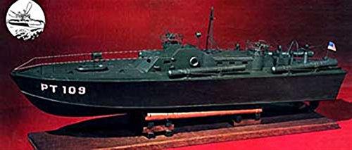 """Dumas Products, Inc. 1/30 U.S. Navy PT-109 Boat Kit, 33"""", DUM1233"""