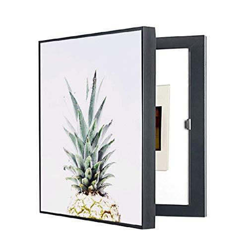 LITING Cuadro de medidor eléctrico Pintura Decorativa Perforación Libre Moderno Caja de...