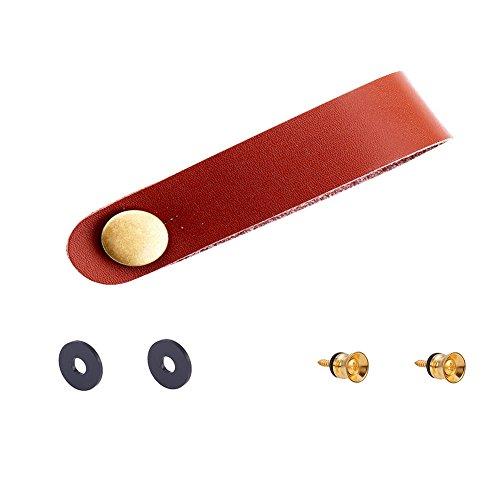WANDIC - Topes para el cuello con botón de fijación y cierre de correas