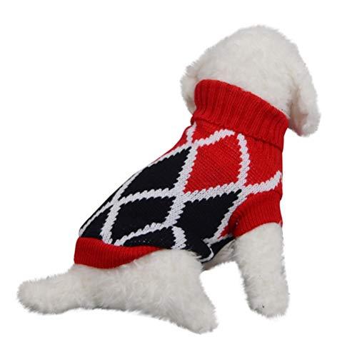 Huisdier kat hond pullover, warme hond pullover kat kleding huisdier mantel voor puppy's Small Medium Large Dog