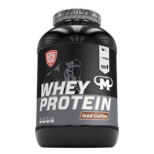 Mammut Nutrition Whey Protein Iced Coffee mit echtem Kaffee, 3000 g