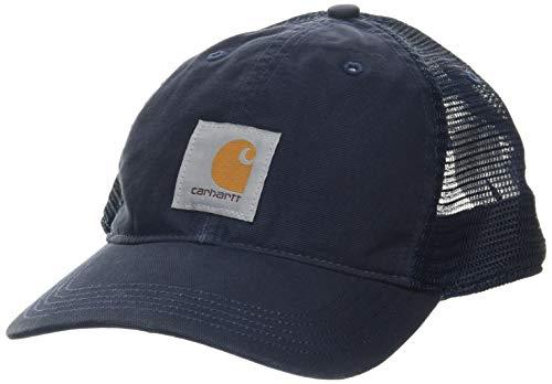 Carhartt Buffalo cap Cappellino da Baseball, Navy, OFA Uomo