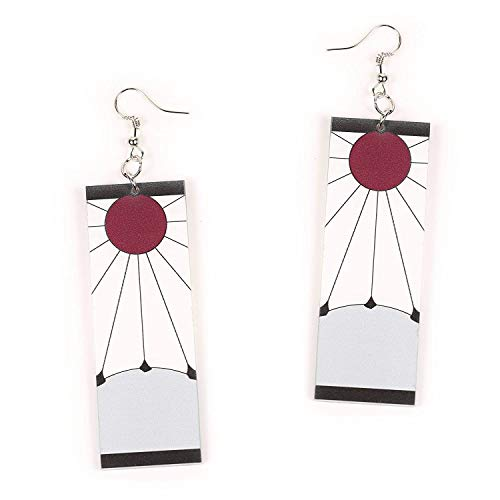 Tanjiro Earrings Hanafuda Earrings Demon Slayer Cosplay Kimetsu No Yaiba Tanjiro Cosplay Anime Earrings Buy Online In Japan At Desertcart Jp Productid 186024096 In the anime, muzan has a very brief flashback and sends his goons after tanjiro and crew, but many people might've missed just how similar this shadowy figure looks to tanjiro. desertcart