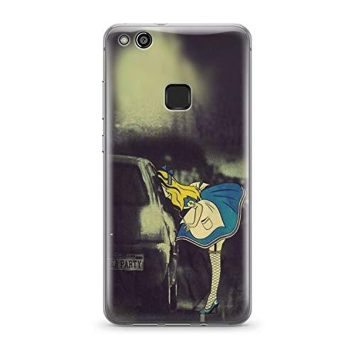 Finoo Handyhülle kompatibel für Huawei P10 Lite - Hülle mit Motiv und Optimalen Schutz TPU Silikon Tasche Case Cover Schutzhülle - Tee Party