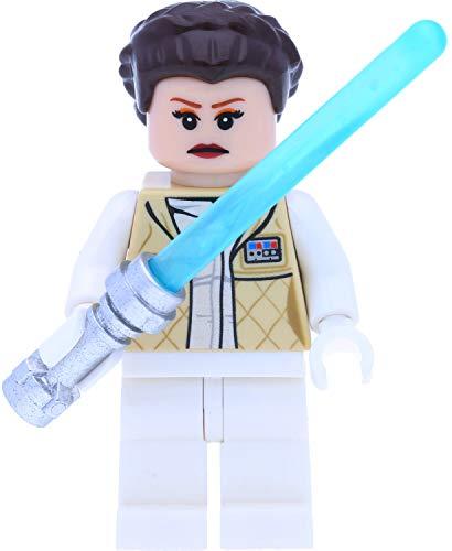 LEGO Star Wars Minifigur: Prinzessin Leia Organa im Hoth Outfit mit Laserschwert