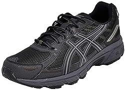 in budget affordable ASICS Gel Venture 6 Men's Shoes, Metropolis Black, 11m USA