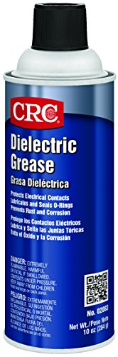 CRC 02083 Di-Electric Grease Spray, (Net weight: 10 oz.) 16oz Aerosol