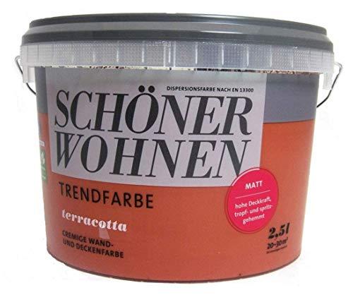 Schöner Wohnen Trendfarben terracotta 2,5 l matt