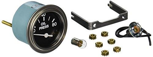 """Sierra International 80180P Heavy Duty Electric 80 PSI Oil Pressure Gauge for Inboard & Diesel Engines, 2"""""""