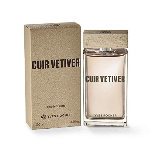 Yves Rocher – Eau de Toilette Cuir Vétiver (50 ml): Ein maskuliner Herren-Duft voll sinnlicher Akzente