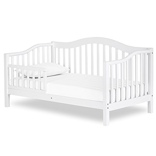 Dream On Me Austin Toddler Day Bed in White, Greenguard Gold Certified