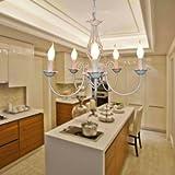 XY&XH Kronleuchter,60 Modern/Zeitgenössisch / Klassisch/Klassisch / Rustikal/Lodge / Vintage/Land LED/Birne Enthalten Gemälde MetallKronleuchter/Anhänger, weiß