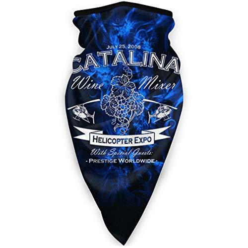 Niet toepasbaar Magic Sjaal, Catalina Wine Mixer Sport Face Shield, Mooie Magic Sjaal Bandanen Voor Wandelen Jagen Motorfietsen, 24x52cm