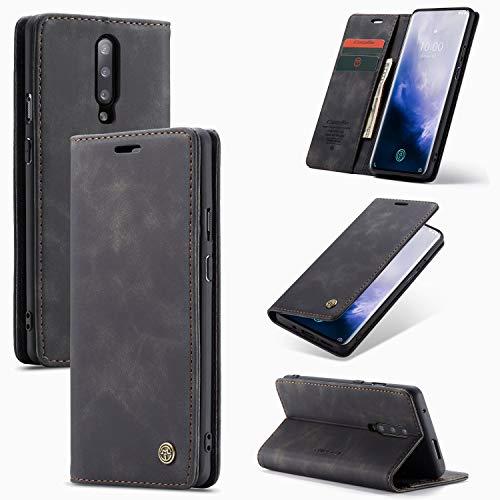 For Samsung 1 + 7 pro retro del tirón de la caja del cuero del teléfono [absorbe-Auto] [Soporte Monedero] - billetera de moda con el titular de la tarjeta a prueba de golpes y resistente a los arañazo