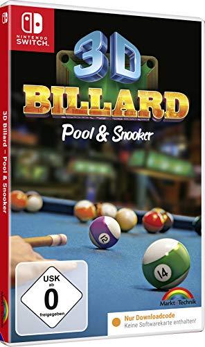 3D BILLARD Pool & Snooker - Nintendo Switch