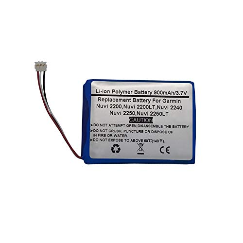 Save %39 Now! 3.7V/900mAh Replace GPS Navigator Battery for Garmin Nuvi 2200 Nuvi 2200LT Nuvi 2240 N...