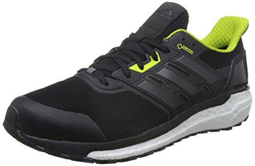 adidas Supernova GTX M, Zapatillas de Running para Hombre, Negro (Core Black/Semi Solar Yellow), 42 2/3 EU