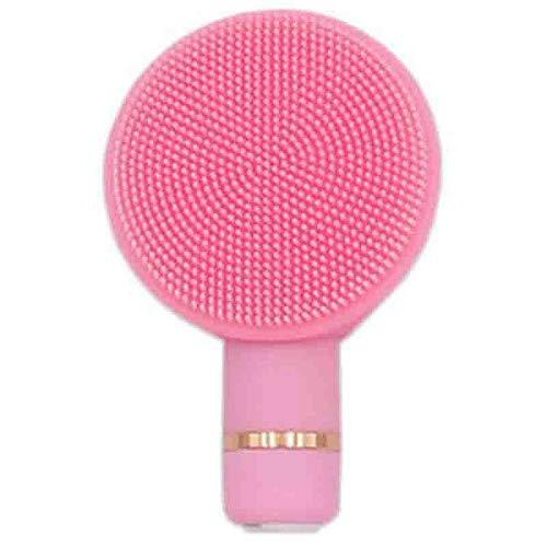 TOOGOO Rose 2 en 1 Portable Silicone éLectrique Visage Nettoyage Instrument Vibration Pore Facial Nettoyant Brosse Set Visage Soins de la Peau Outils